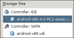 Android x86 in VirtualBox