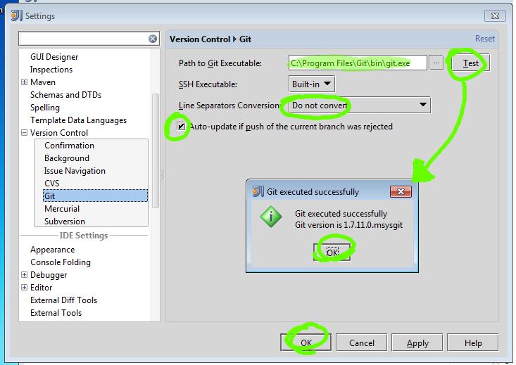 Software setup for Windows