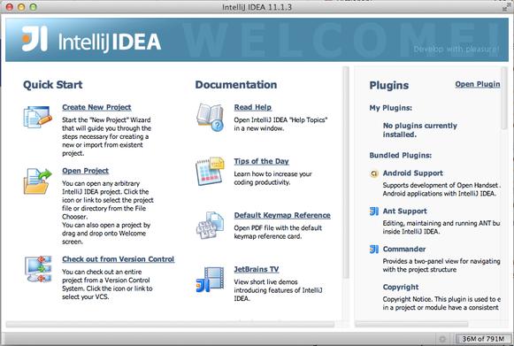 Software setup for Macintosh